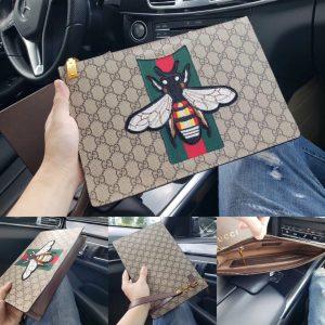 Cltuch ví cầm tay bản to Gucci